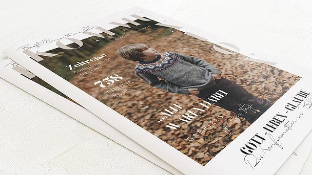Festzeitung Kommunion - Mein Festtag Festschrift