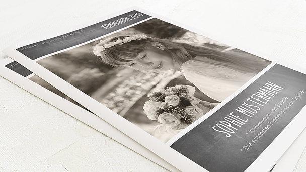 Festzeitung Kommunion - Getäfelt Festschrift