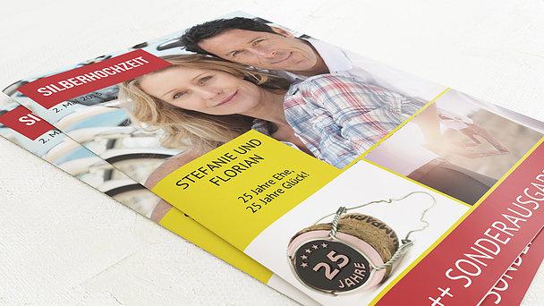 Festzeitung Silberne Hochzeit - Gossip