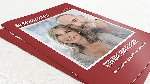Festzeitung Silberne Hochzeit - Magazin