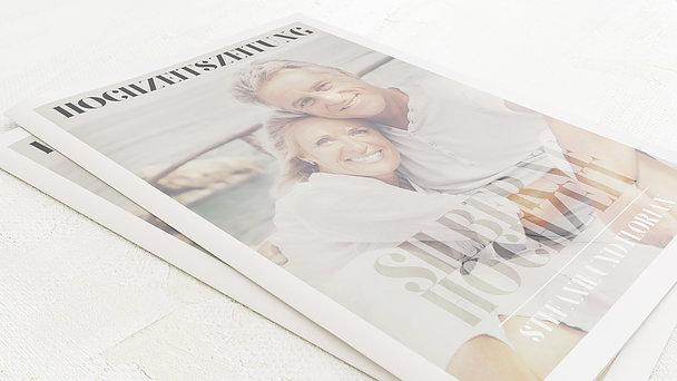 Festzeitung Silberne Hochzeit - Das große Wort Festschrift