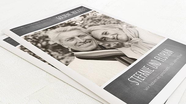 Festzeitung Goldene Hochzeit - Getäfelt Festschrift
