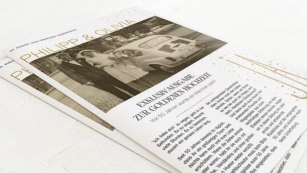 Festzeitung Goldene Hochzeit - Goldsturm Festschrift