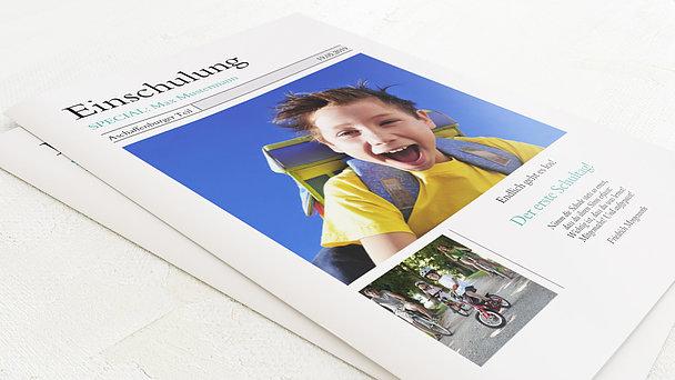 Festzeitung Einschulung - Zeitung