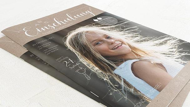 Festzeitung Einschulung - ABC-Geschichten Festschrift