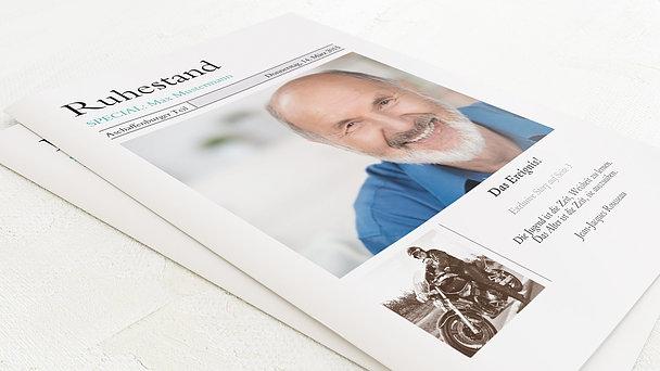 Festzeitung zum Ruhestand - Zeitung