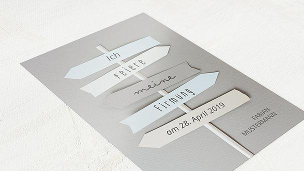 Firmung Karten - Wegweiser