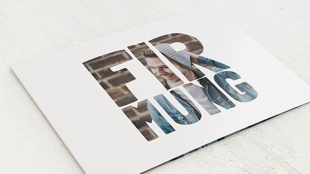Firmung Karten - Fototext