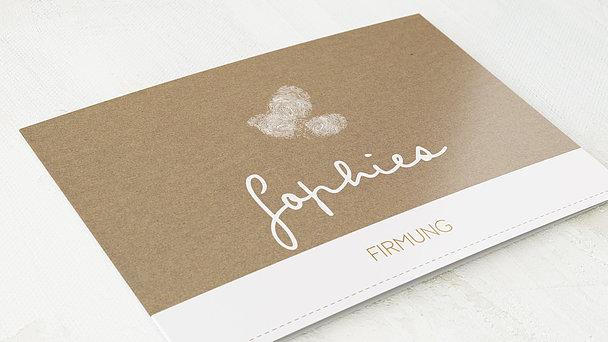 Firmung Karten - Little Fingerprints