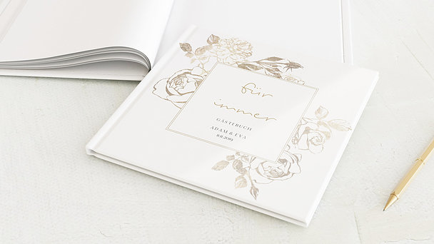 Gästebuch Hochzeit - Rosenstolz