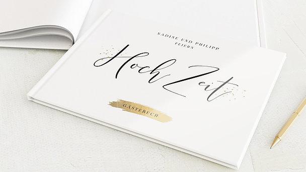 Gästebuch Hochzeit - Liebessprenkel
