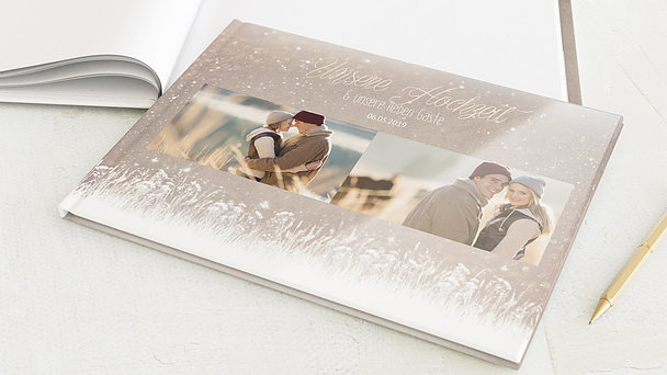 Gästebuch Hochzeit - Zauberlicht