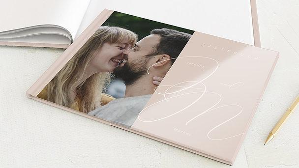 Gästebuch Hochzeit - Spuren am Himmel