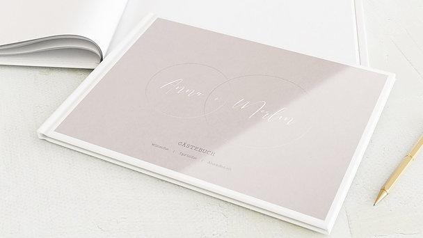 Gästebuch Hochzeit - Love circle