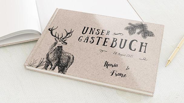 Gästebuch Hochzeit - Tierisch guad