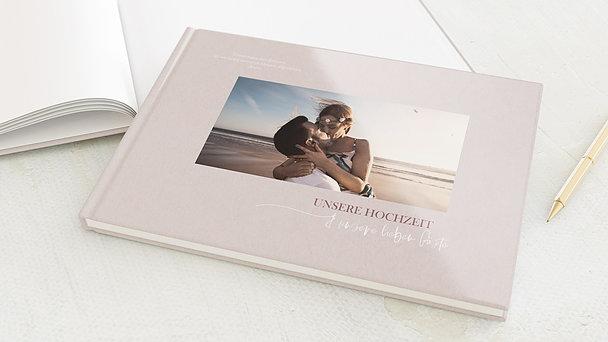 Gästebuch Hochzeit - Zeitloser Moment