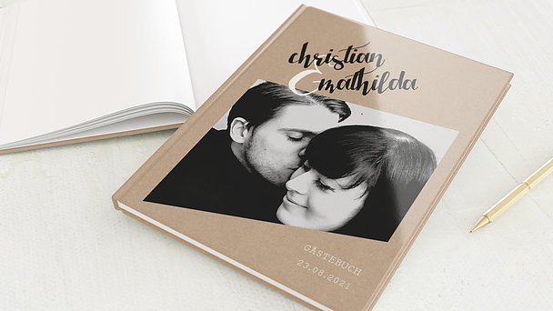 Gästebuch Hochzeit - Ziellinie