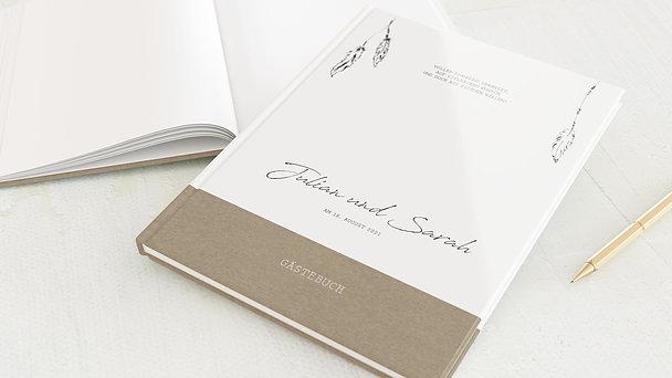 Gästebuch Hochzeit - Dreamcatcher