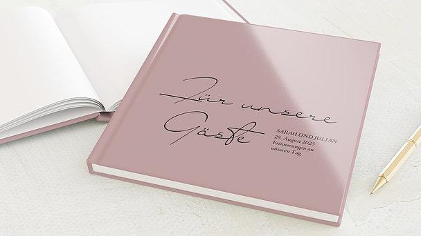 Gästebuch Hochzeit - Sanfte Liebe