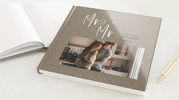Gästebuch Hochzeit - Sternenfunkel