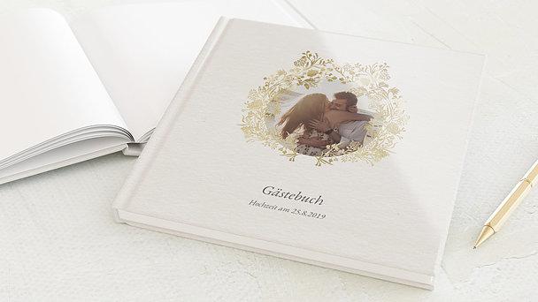 Gästebuch Hochzeit - Royal Garden