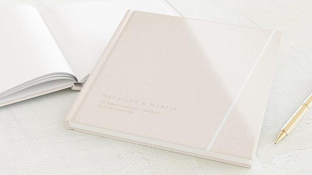 Gästebuch Hochzeit - Liebesband