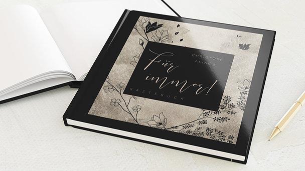 Gästebuch Hochzeit - Frühlingstag