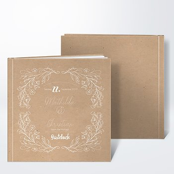 Gästebuch Hochzeit - Zart erblüht