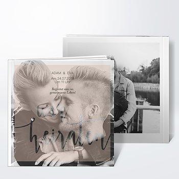 Gästebuch Hochzeit - Innige Liebe