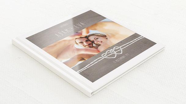 Gästebuch Hochzeit - Liebesknoten