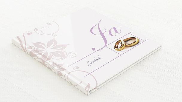 Gästebuch Hochzeit - Weiße Hochzeit