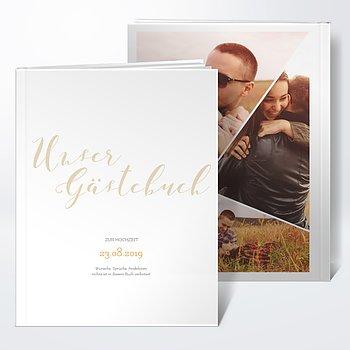 Gästebuch Hochzeit - Nur wir zwei