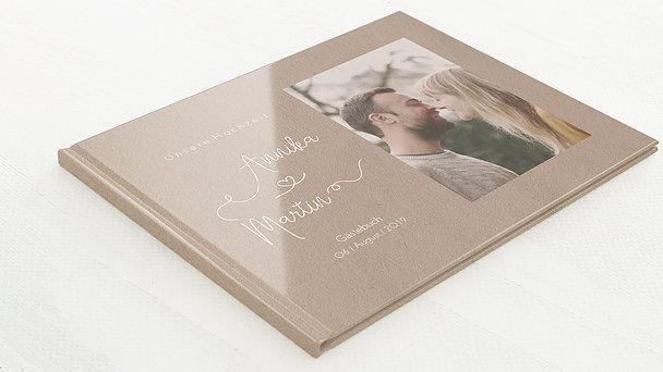 Gästebuch Hochzeit - Herzflug