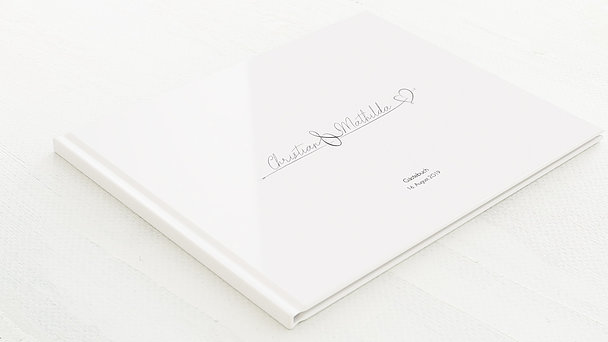 Gästebuch Hochzeit - Cupidos Pfeil