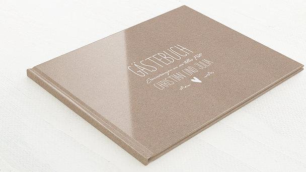 Gästebuch Hochzeit - Rustique