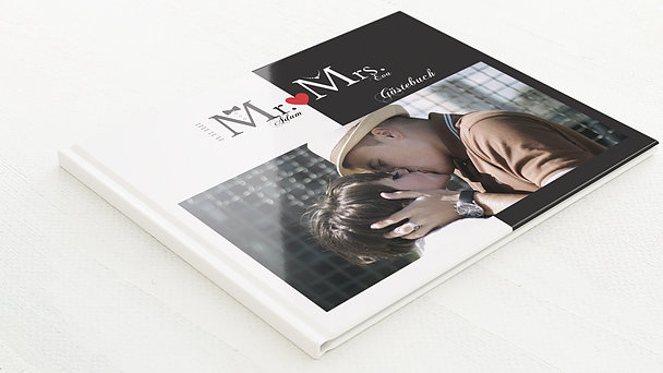 Gästebuch Hochzeit - Mr & Mrs