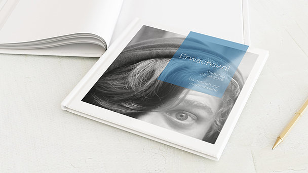 Gästebuch Jugendweihe - Cubes