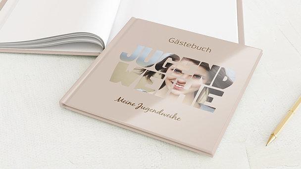 Gästebuch Jugendweihe - Fototext