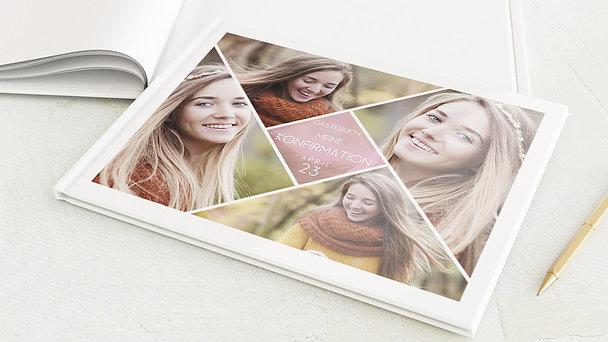 Gästebuch Jugendweihe - Bunt gefächert