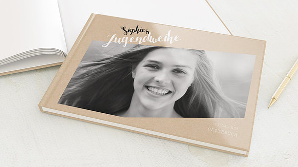 Gästebuch Jugendweihe - Linientreu
