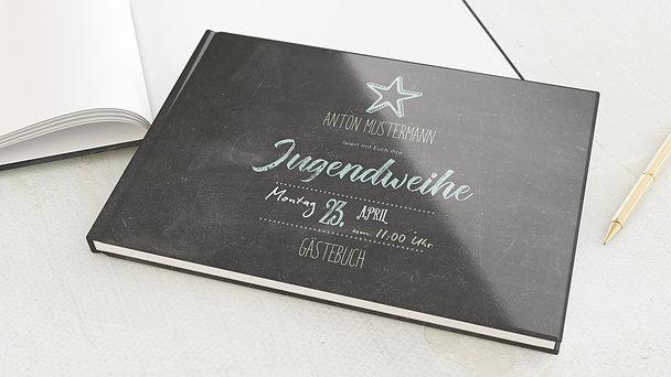 Gästebuch Jugendweihe - Ankündigung