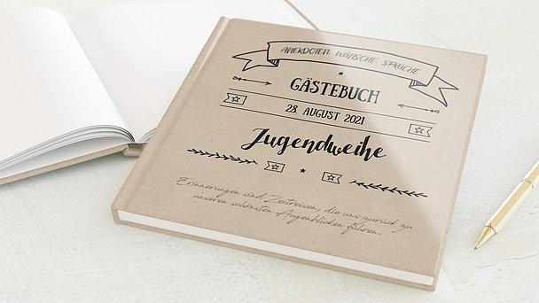 Gästebuch Jugendweihe - Kraftliner