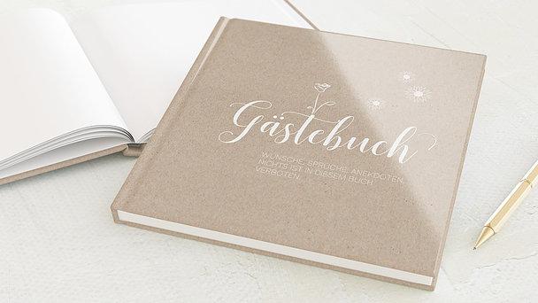 Gästebuch Jugendweihe - Meine Vintage Karte