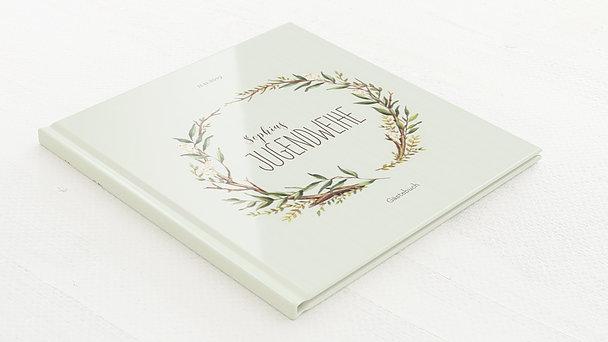 Gästebuch Jugendweihe - Jugendweihekranz