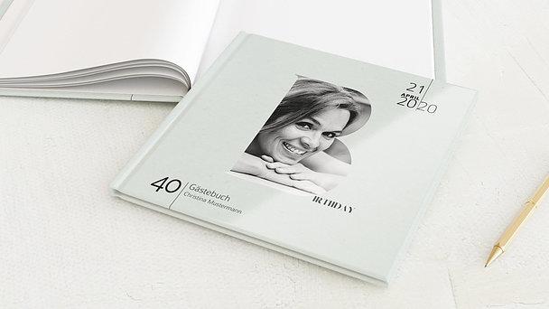 Gästebuch Geburtstag - Big B