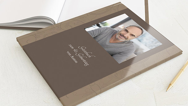 Gästebuch Geburtstag - Card de Luxe