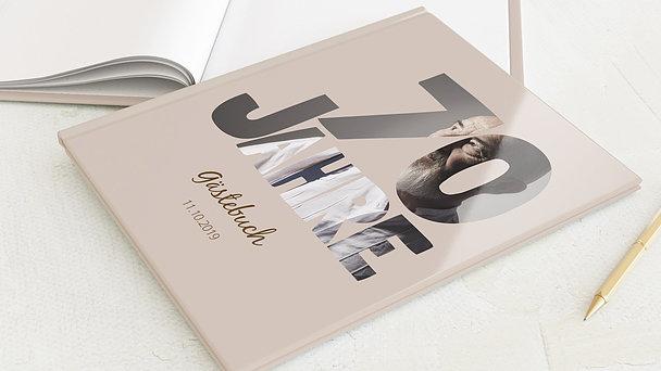 Gästebuch Geburtstag - Stolze 70