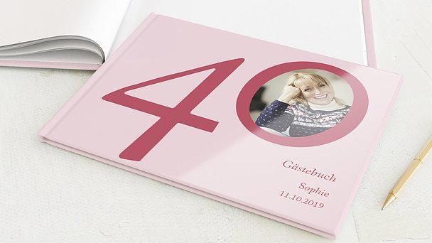 Gästebuch Geburtstag - Meine Vierzig