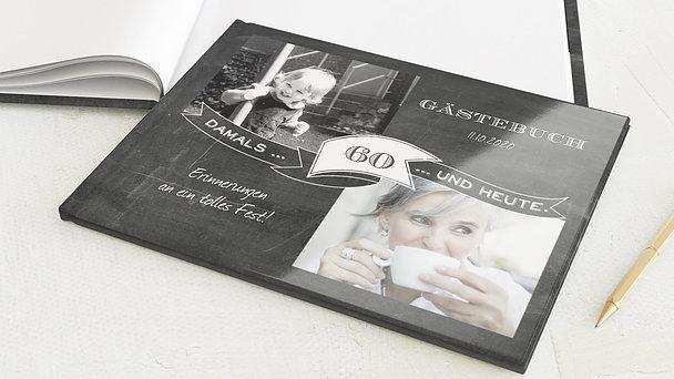 Gästebuch Geburtstag - Jahrestafel 60