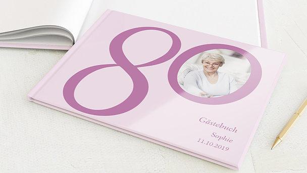 Gästebuch Geburtstag - Meine Achtzig